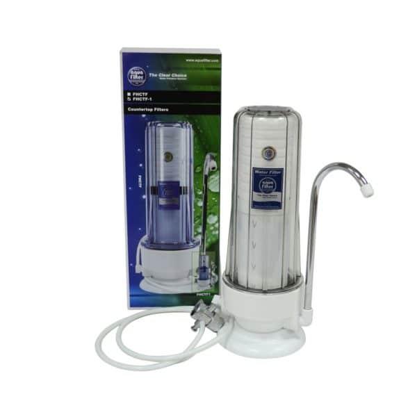 Purificator apa bucatarie, sedimente, rugina, clor, pesticide, compusi organici, Counter-Top, FHCTF-1