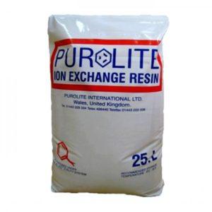 Rasina schimbatoare de ioni Purolite C100E