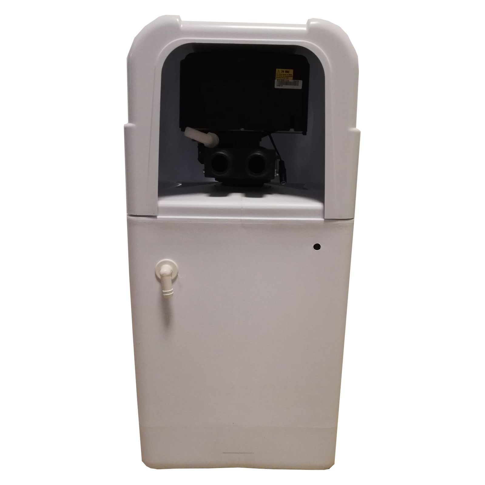 Dedurizator apa Aqua Mini 12-E14M, Debit 0.72 mc/h, Capacitate filtrare 12.400 litri, Cartus din Rasina Cationica - AquaFilters.ro