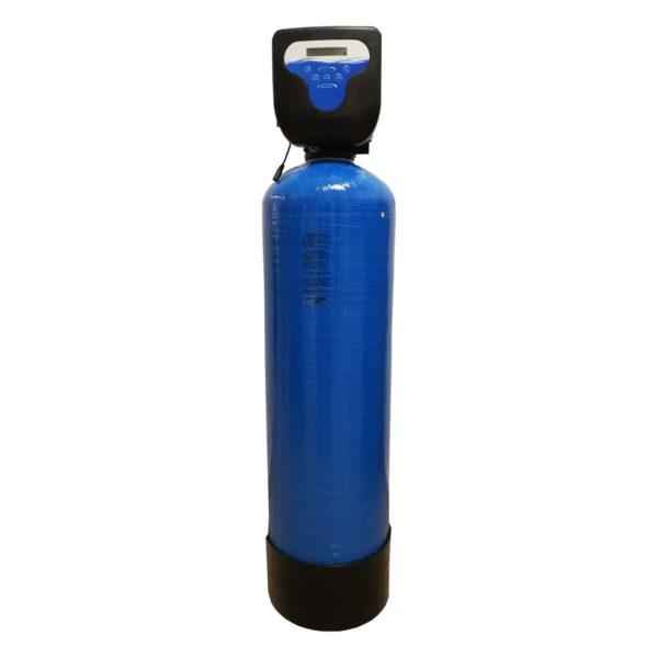 Filtru apa automat cu zeolit Aqua DM 25, Debit 2.0 mc/h, Capacitate filtrare 40.000 litri, Cartus din Rasina  - AquaFilters.ro