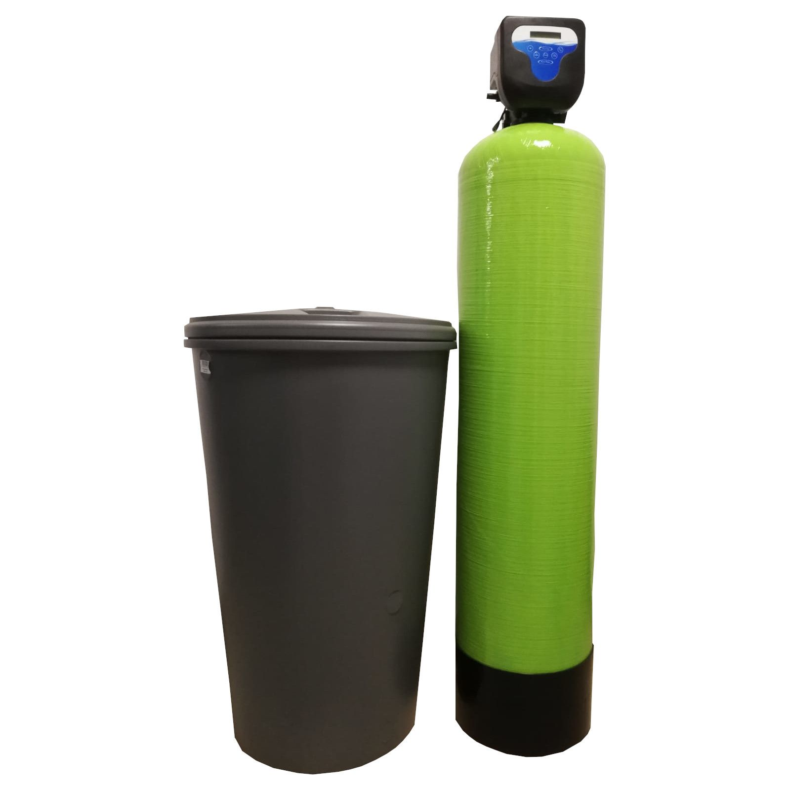 Dedurizator Simplex Aqua 60-DM, Debit 3.6 mc/h, Capacitate filtrare 185.000 litri, Cartus din Rasina Cationica - AquaFilters.ro