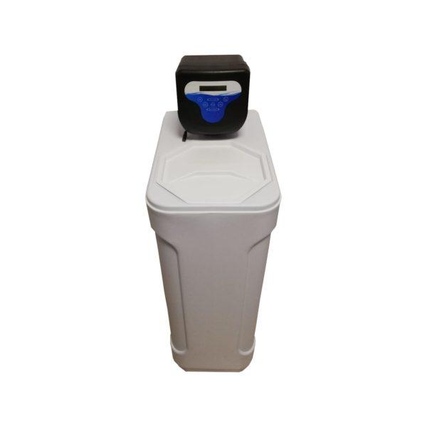 Dedurizator Compact Aqua Maxy 25-DM, Debit 1.5 mc/h, Capacitate filtrare 50.000 litri, Cartus din Rasina Cationica - AquaFilters.ro