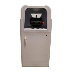 Dedurizator apa Aqua Mini 10-S10C, Debit 0.6 mc/h, Capacitate filtrare 10.400 litri, Cartus din Rasina Cationica - AquaFilters.ro