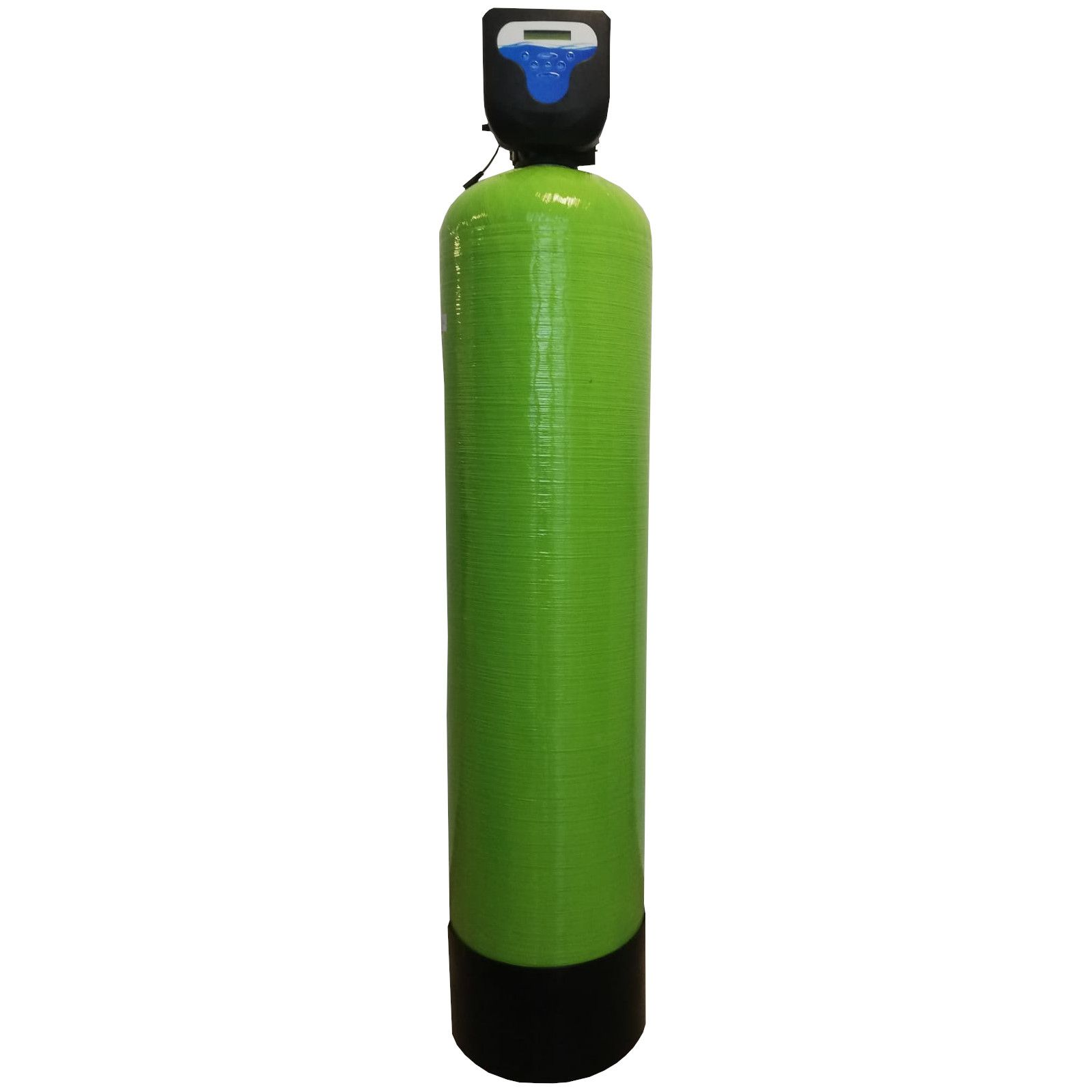 Filtru apa automat cu zeolit Aqua DM 80, Debit 4.7 mc/h, Capacitate filtrare 120.000 litri, Cartus din Rasina  - AquaFilters.ro