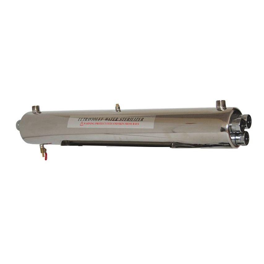 Sterilizator UV apa Aqua 165W, Debit 8.5 mc/h, Capacitate filtrare 73.000 mc - AquaFilters.ro