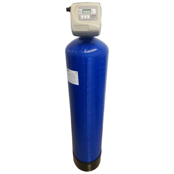 Filtru apa automat cu zeolit Clack SUA TC 55, Debit 3.7 mc/h, Capacitate filtrare 90.000 litri, Cartus din Rasina  - AquaFilters.ro