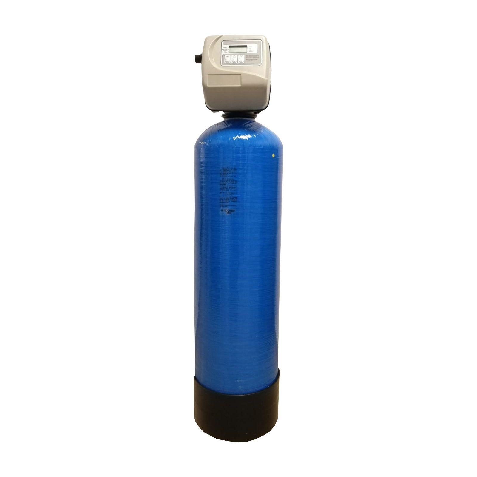 Filtru apa automat cu zeolit Clack SUA TC 25, Debit 2.0 mc/h, Capacitate filtrare 40.000 litri, Cartus din Rasina  - AquaFilters.ro