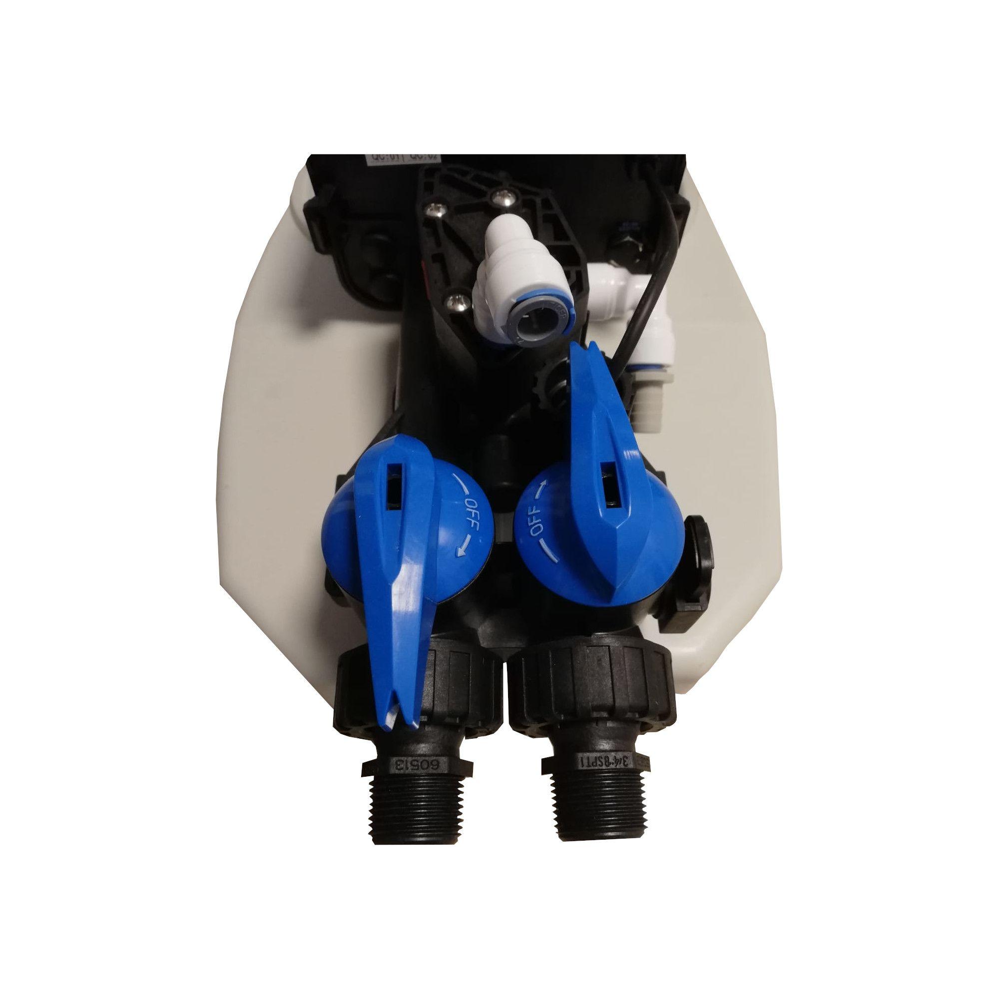 Dedurizator apa Aqua Mini 5-S10C, Debit 0.3 mc/h, Capacitate filtrare 2.600 litri, Cartus din Rasina Cationica - AquaFilters.ro