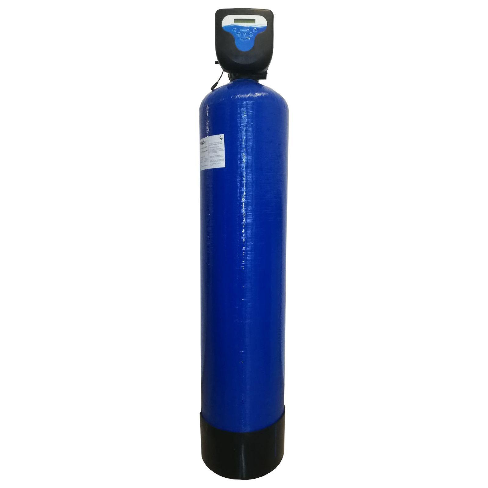 Filtru apa automat cu zeolit Aqua DM 55, Debit 3.7 mc/h, Capacitate filtrare 90.000 litri, Cartus din Rasina  - AquaFilters.ro
