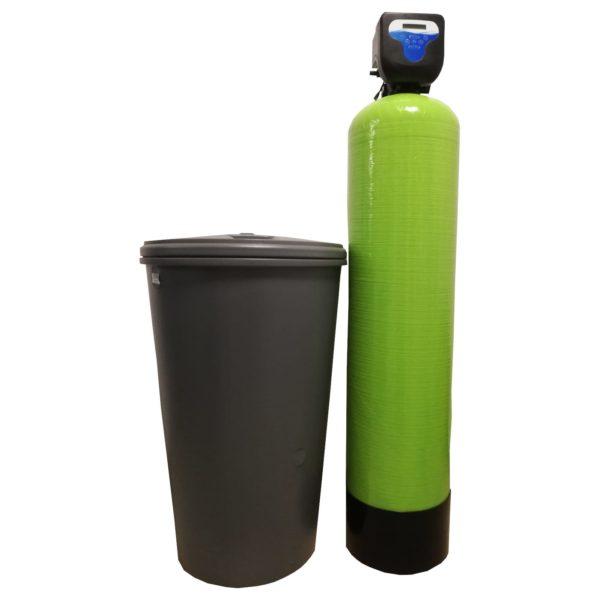 Dedurizator Simplex Aqua 55-DM, Debit 3.3 mc/h, Capacitate filtrare 150.000 litri, Cartus din Rasina Cationica - AquaFilters.ro