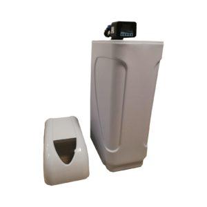 Dedurizator Compact Aqua Maxy 25-S10C, Debit 1.5 mc/h, Capacitate filtrare 50.000 litri, Cartus din Rasina Cationica - AquaFilters.ro