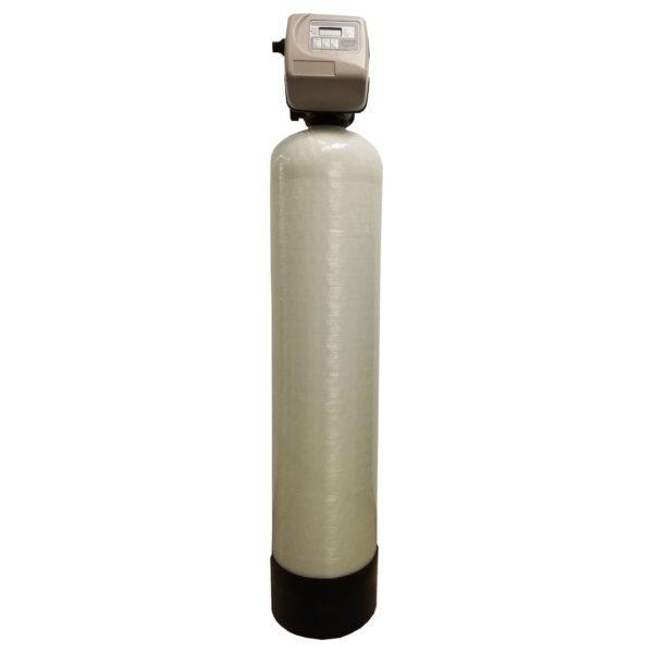 Filtru apa automat cu zeolit Clack SUA TC 35, Debit 2.45 mc/h, Capacitate filtrare 50.000 litri, Cartus din Rasina  - AquaFilters.ro