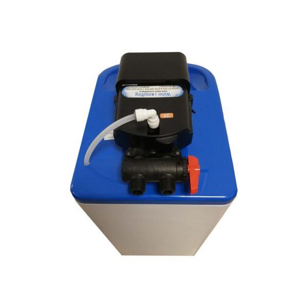 Dedurizator Compact Midi 15-S10C, Debit 0.9 mc/h, Capacitate filtrare 24.000 litri, Cartus din Rasina Cationica - AquaFilters.ro