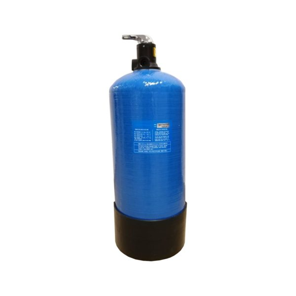 Filtru apa automat cu zeolit Aqua VM 20-DN 25, Debit 1.9 mc/h, Capacitate filtrare 35.000 litri, Cartus din Rasina  - AquaFilters.ro