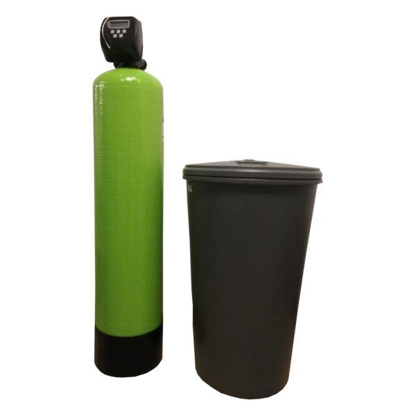 Dedurizator Simplex Aqua 55-Clack SUA-CI, Debit 3.3 mc/h, Capacitate filtrare 150.000 litri, Cartus din Rasina Cationica - AquaFilters.ro