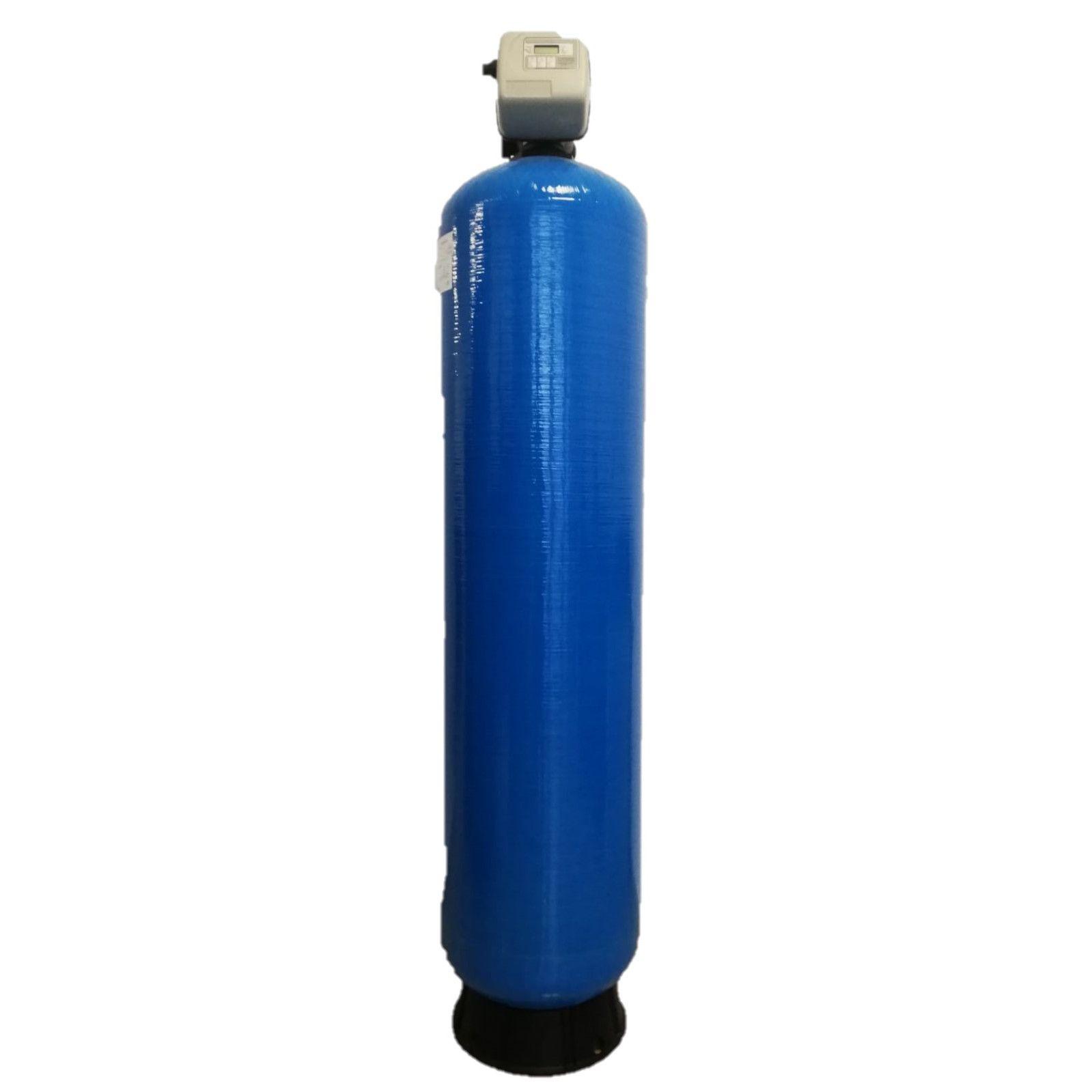 Filtru apa automat cu zeolit Clack SUA TC 150, Debit 6.2 mc/h, Capacitate filtrare 160.000 litri, Cartus din Rasina  - AquaFilters.ro