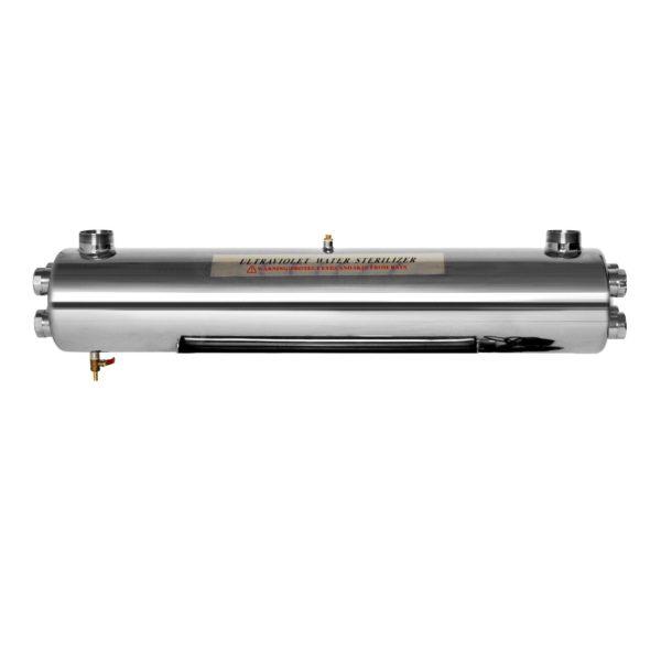 Sterilizator UV apa Aqua 220W, Debit 11.2 mc/h, Capacitate filtrare 100.000 mc - AquaFilters.ro
