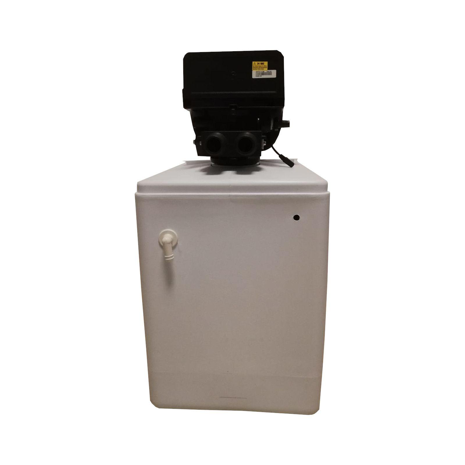 Dedurizator apa Aqua Mini 12-DM, Debit 0.72 mc/h, Capacitate filtrare 12.400 litri, Cartus din Rasina Cationica - AquaFilters.ro