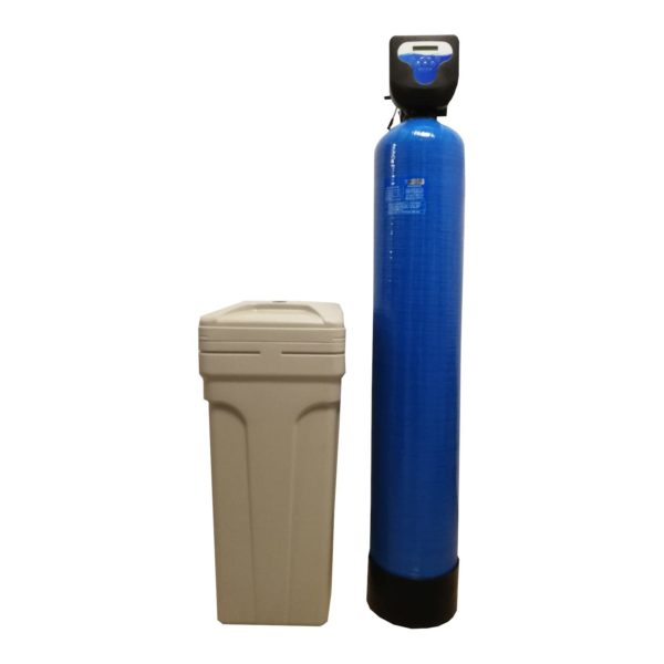 Dedurizator Simplex Aqua 50-DM, Debit 3.0 mc/h, Capacitate filtrare 130.000 litri, Cartus din Rasina Cationica - AquaFilters.ro