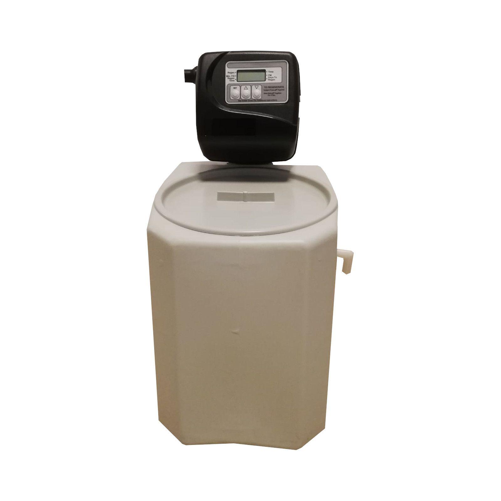Dedurizator apa Aqua Mini 5-TCD, Debit 0.3 mc/h, Capacitate filtrare 2.600 litri, Cartus din Rasina Cationica - AquaFilters.ro