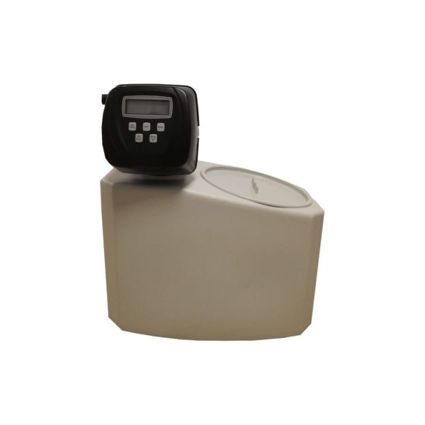 Dedurizator apa Aqua Mini 5-Clack SUA-CI, Debit 0.3 mc/h, Capacitate filtrare 2.600 litri, Cartus din Rasina Cationica - AquaFilters.ro