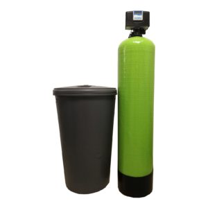 Dedurizator Simplex Aqua 60-E14M, Debit 3.6 mc/h, Capacitate filtrare 185.000 litri, Cartus din Rasina Cationica - AquaFilters.ro