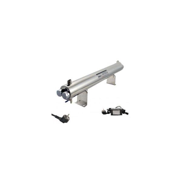 Sterilizator UV apa Aqua 110W, Debit 6.5 mc/h, Capacitate filtrare 50.000 mc - AquaFilters.ro