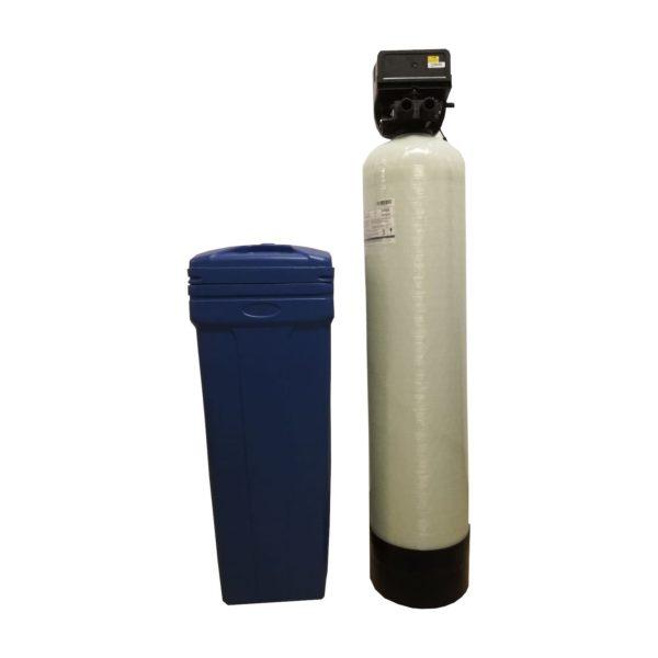 Dedurizator Simplex Aqua 40-DM, Debit 2.4 mc/h, Capacitate filtrare 85.000 litri, Cartus din Rasina Cationica - AquaFilters.ro