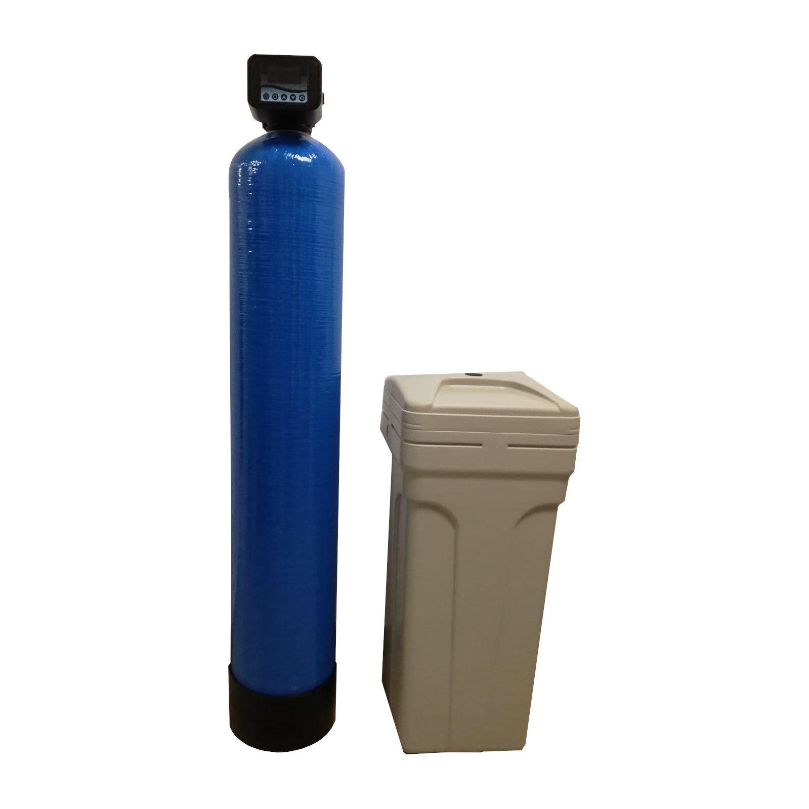 Dedurizator Simplex Aqua 50-S10C, Debit 3.0 mc/h, Capacitate filtrare 130.000 litri, Cartus din Rasina Cationica - AquaFilters.ro