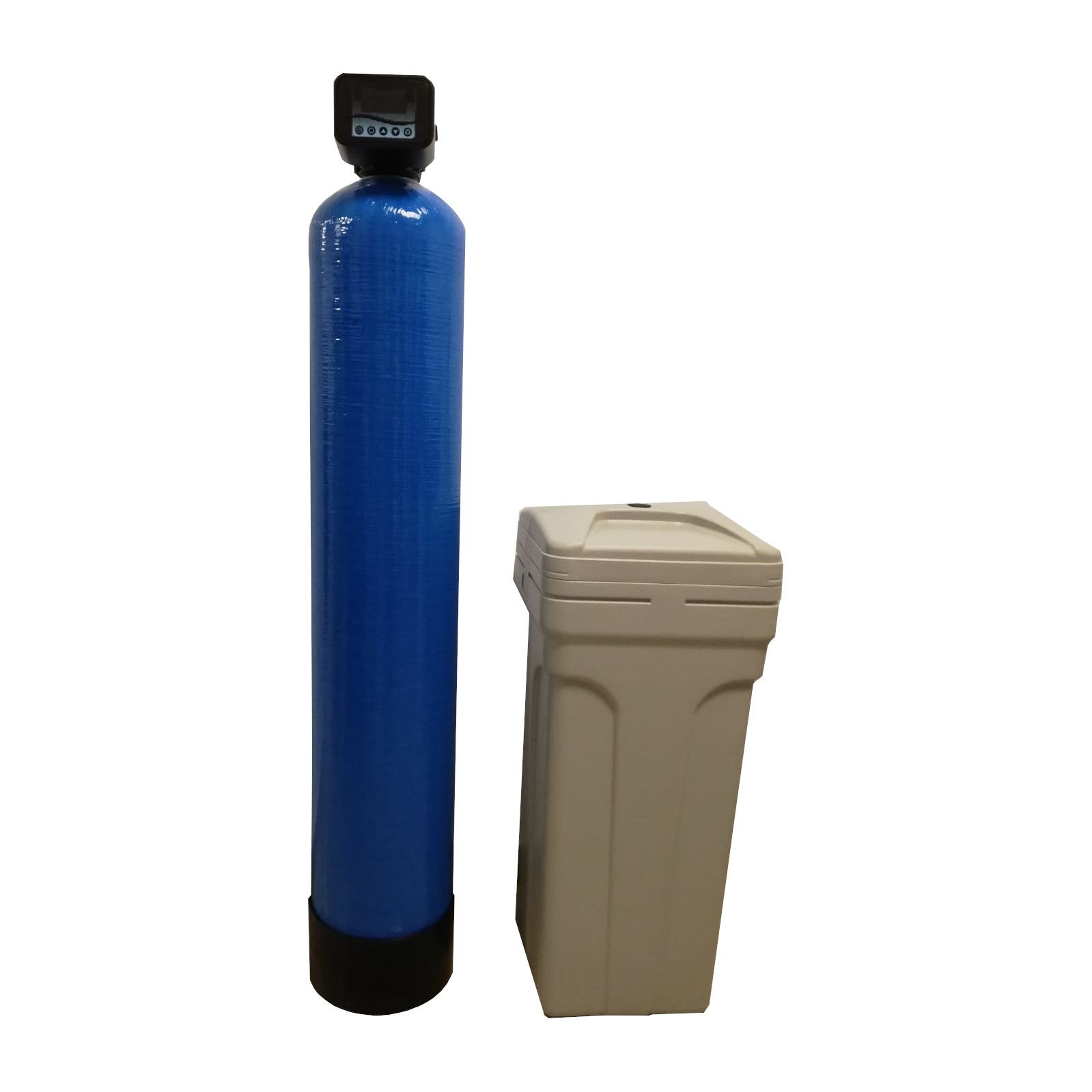 Dedurizator Simplex Aqua 45-S10C, Debit 2.7 mc/h, Capacitate filtrare 100.000 litri, Cartus din Rasina Cationica - AquaFilters.ro