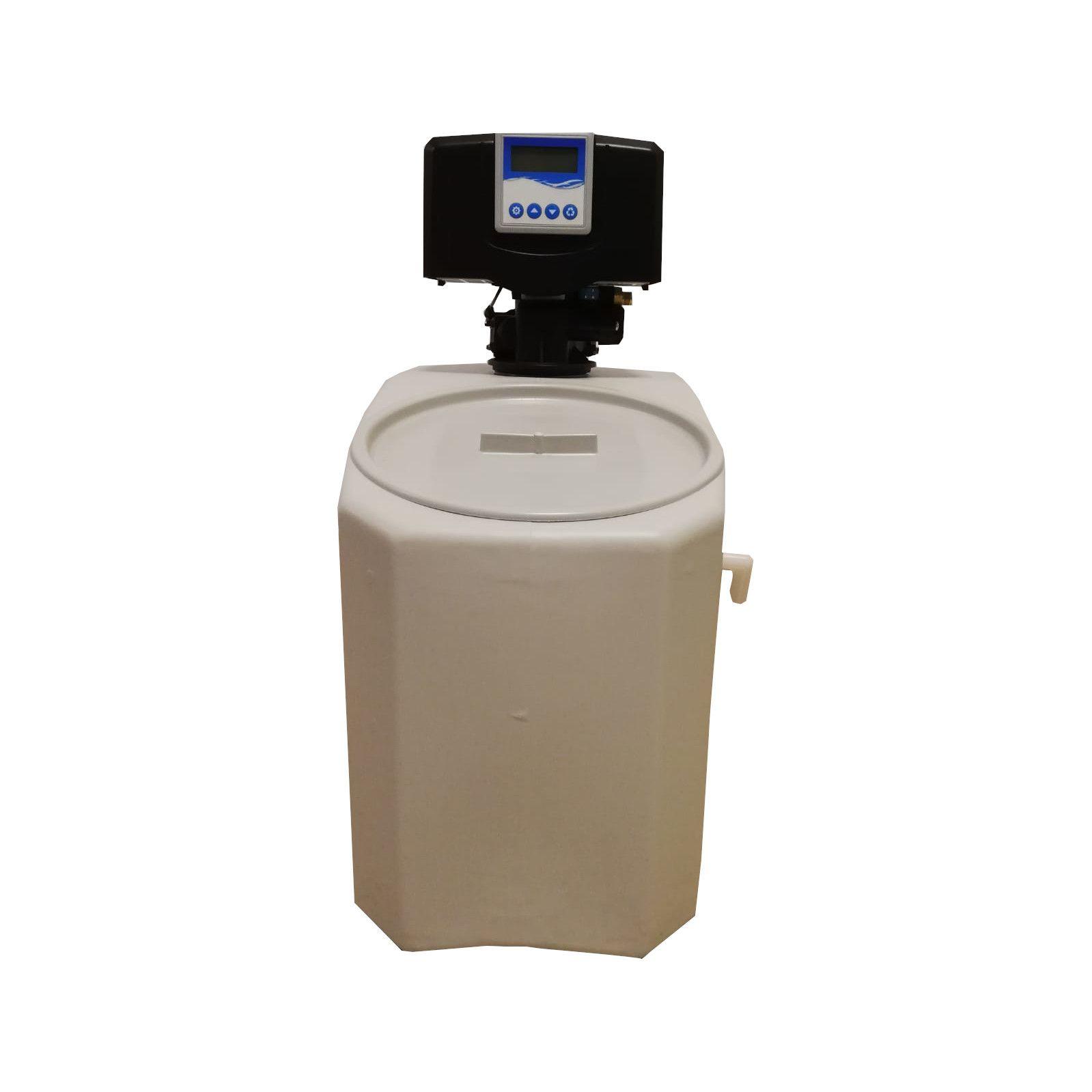 Dedurizator apa Aqua Mini 5-E14M, Debit 0.3 mc/h, Capacitate filtrare 2.600 litri, Cartus din Rasina Cationica - AquaFilters.ro
