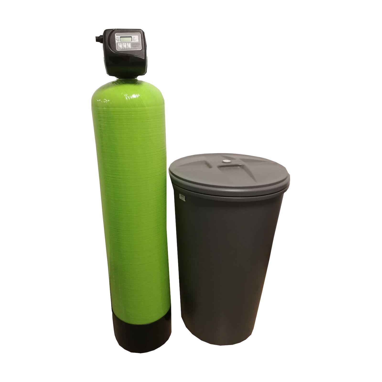 Dedurizator Simplex Aqua 55-Clack SUA-TCD, Debit 3.3 mc/h, Capacitate filtrare 150.000 litri, Cartus din Rasina Cationica - AquaFilters.ro