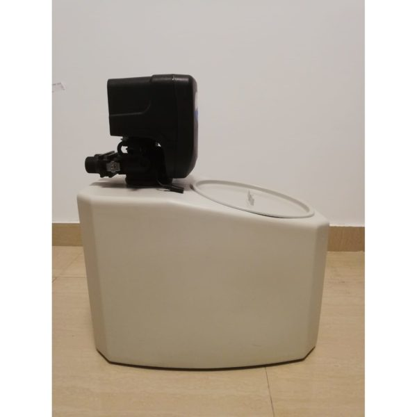 Dedurizator apa Aqua Mini 5-DM, Debit 0.3 mc/h, Capacitate filtrare 2.600 litri, Cartus din Rasina Cationica - AquaFilters.ro